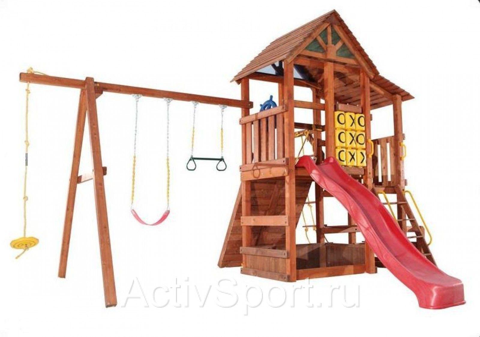 Как построить детский городок на даче своими руками фото